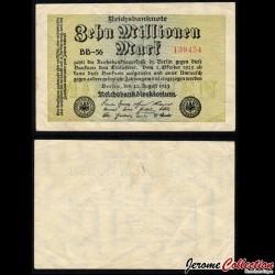 ALLEMAGNE / REICHSBANK - Billet de 10 000 000 Mark - 08.1923 P106a