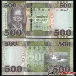 SUD SOUDAN - BILLET de 500 Livres Soudanaise - 2020 P16b