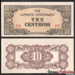 Philippines (Gouvernement Japonais) - Billet de 10 Centavos - 1942
