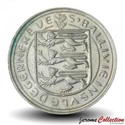 GUERNESEY (île de) - PIECE de 10 Pence - Vache Guernesey - 1982