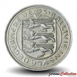 GUERNESEY (île de) - PIECE de 10 Pence - Vache Guernesey - 1979