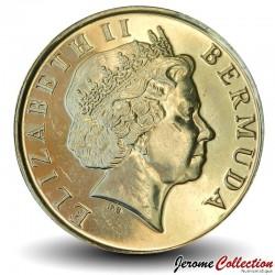 BERMUDES - PIECE de 1 Dollar - Bateau à voile - 2009
