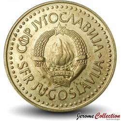 YOUGOSLAVIE - PIECE de 5 Dinars - 1983