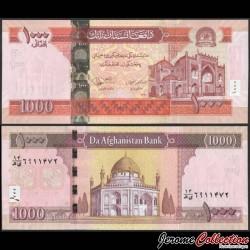 AFGHANISTAN - Billet de 1000 Afghanis - Mosquée Rawze-i-Sharif - 2012 P77c