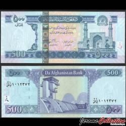 AFGHANISTAN - Billet de 500 Afghanis - Grande Mosquée du Vendredi d'Hérat - 2012 P76c