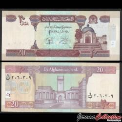 AFGHANISTAN - Billet de 20 Afghanis - 2002 P68a
