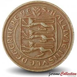 GUERNESEY (île de) - PIECE de 1 New Penny - Fou de Bassan - 1979