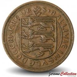 GUERNESEY (île de) - PIECE de 1 New Penny - Fou de Bassan - 1971