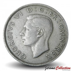 ROYAUME UNI - PIECE de 2 Shillings - George VI - 1951