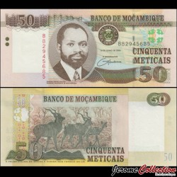 MOZAMBIQUE - Billet de 50 Meticais - Koudous - 2006 P144a