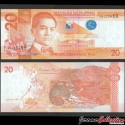 PHILIPPINES - Billet de 20 Piso - Civette - 2017G P206b3