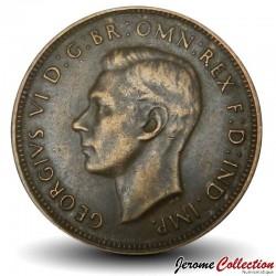 AUSTRALIE - PIECE de 1/2 Penny - Kangourou - 1948