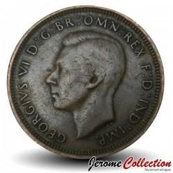 AUSTRALIE - PIECE de 1/2 Penny - Kangourou - 1946