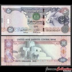 EMIRATS ARABES UNIS - Billet de 50 Dirhams - Oryx - 2016 P29f