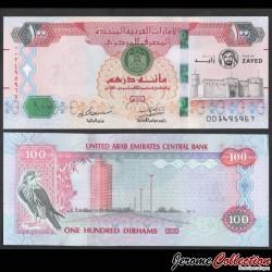 EMIRATS ARABES UNIS - Billet de 100 Dirhams - Centenaire du père fondateur des Émirats arabes unis - 2018 P34a
