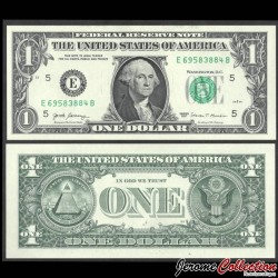 ETATS UNIS / USA - Billet de 1 DOLLAR - George Washington - E(5) Richmond - 2017 P544aE