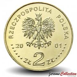 POLOGNE - PIECE de 2 ZLOTE - Concours International de Violon Henry Wieniawski - 2001