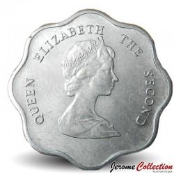 CARAIBE ORIENTALE - PIECE de 5 Cents - 1991