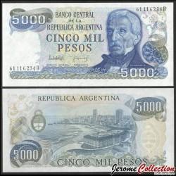 ARGENTINE - Billet de 5000 Pesos - 1977 / 1983 P305b2