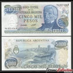 ARGENTINE - Billet de 5000 Pesos - 1978 P305a2