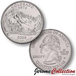 ETATS-UNIS / USA - PIECE de 25 Cents (Quarter States) - Colorado
