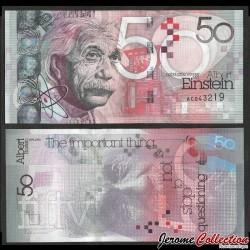 ROYAUME UNI - Billet de 50 - Albert Einstein - 2011 KBA50_2011