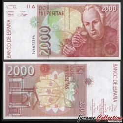ESPAGNE - Billet de 2000 Pesetas - José Celestino Bruno Mutis y Bosio - 1996 P164a