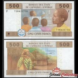GUINEE EQUATORIALE - Billet de 500 Francs - 2016 P506Fc