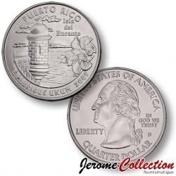 ETATS-UNIS / USA - PIECE de 25 Cents (Quarter States) - Puerto Rico - 2009