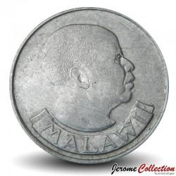 MALAWI - PIECE de 10 Tambala - Epis de maïs - 1989 Km#10