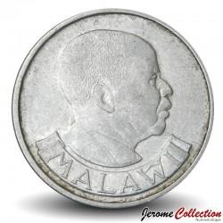 MALAWI - PIECE de 5 Tambala - Héron - 1989