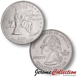 ETATS-UNIS / USA - PIECE de 25 Cents (Quarter States) - New York - 2001