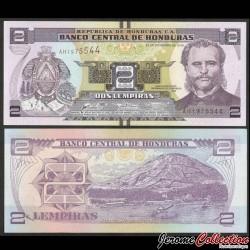 HONDURAS - Billet de 2 Lempiras - 28.12.2016 P97c