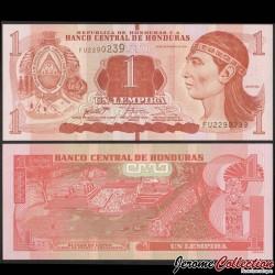 HONDURAS - Billet de 1 Lempira - 28.12.2016 P96c
