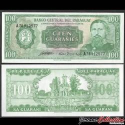 PARAGUAY - Billet de 100 Guaranies - Ruines d'Humaita - 1982 P205b