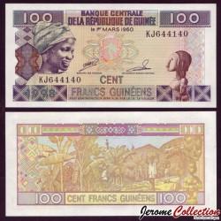 GUINEE - Billet de 100 Francs - 1998