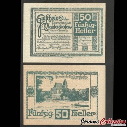 AUTRICHE - Billet de 50 Heller - Haidershofen - 1920 N#220790