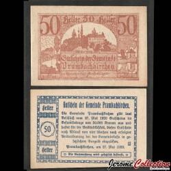 AUTRICHE - Billet de 50 Heller - Prambachkirchen - 1920 N#214243