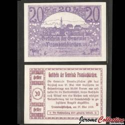AUTRICHE - Billet de 20 Heller - Prambachkirchen - 1920 N#214242