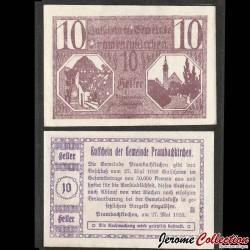 AUTRICHE - Billet de 10 Heller - Prambachkirchen - 1920 N#240478
