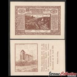 AUTRICHE - Billet de 10 Heller - Zwettl im Mühlkreis - 1921 N#272666