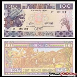 GUINEE - Billet de 100 Francs - 2015