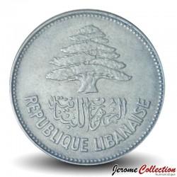 LIBAN - PIECE de 25 Qirshā / Piastres - 1952