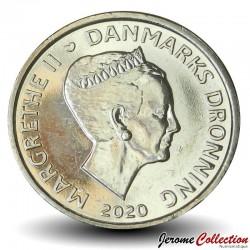 DANEMARK - PIECE de 20 Couronnes Danoise - Margrethe II - 2020