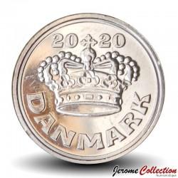 DANEMARK - PIECE de 50 øre - La couronne de Christian V - 2020 Km#866