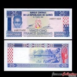 GUINEE - Billet de 25 Francs - 1985