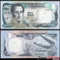 COLOMBIE - Billet de 1000 Pesos - Simón Bolívar - 02.08.1995 P438a4
