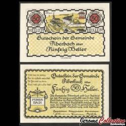 AUTRICHE - Billet de 50 Heller - Piberbach - 1920 N#214196
