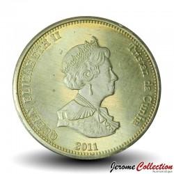 ILE NIGHTINGALE - PIECE de 20 Pence - Régalec ou poisson-ruban - 2011