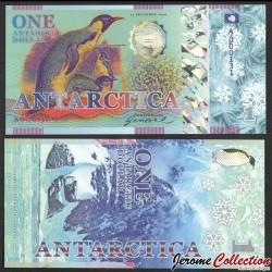 ANTARCTICA - Billet de 1 Antarctic Dollar - Manchot Empereur - 2020 0001-2020
